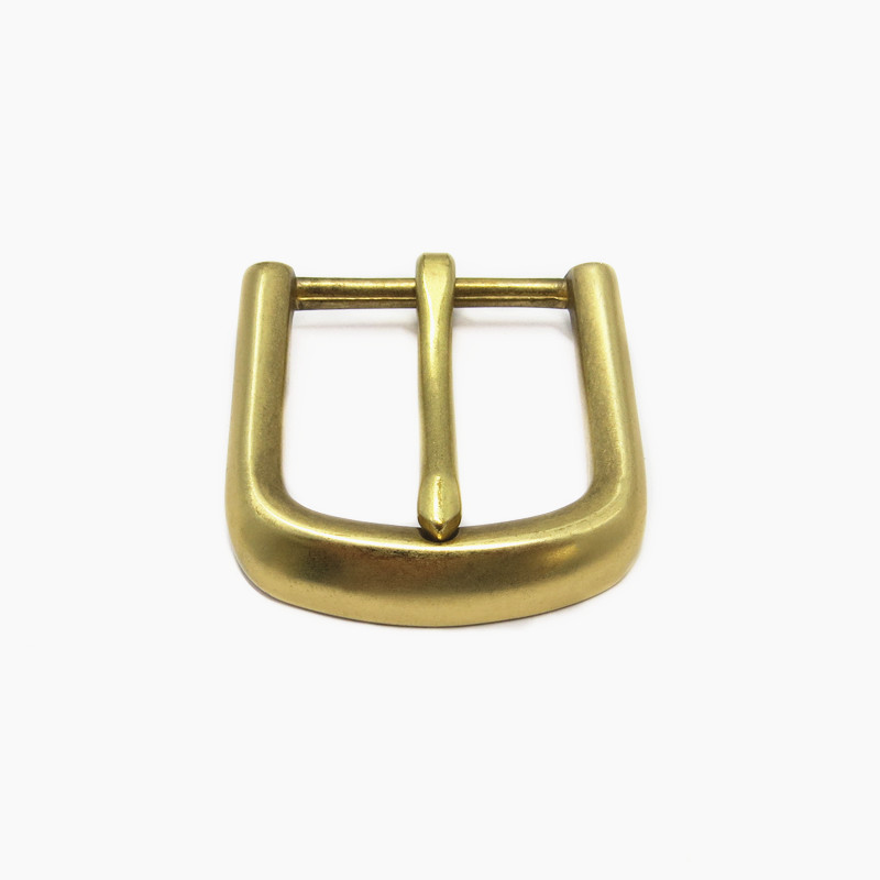 40mm Customized Solid Brass Pin <strong>Buckle</strong> For Leather Belt