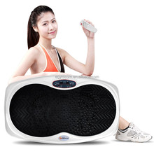 Shenzhen hot sale slim small 3d foot construction massage use vibration plate weight loss fitness machine