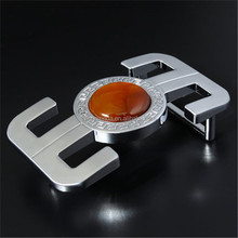 cheap wholesale precious stone buckle metal jewelled buckle
