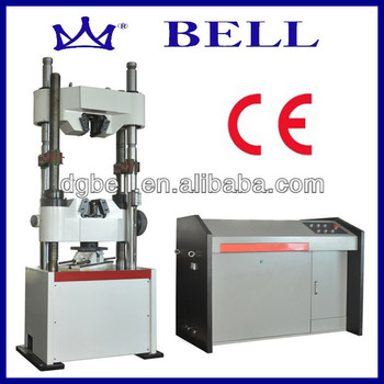 CE 100 tons tensile testing machine