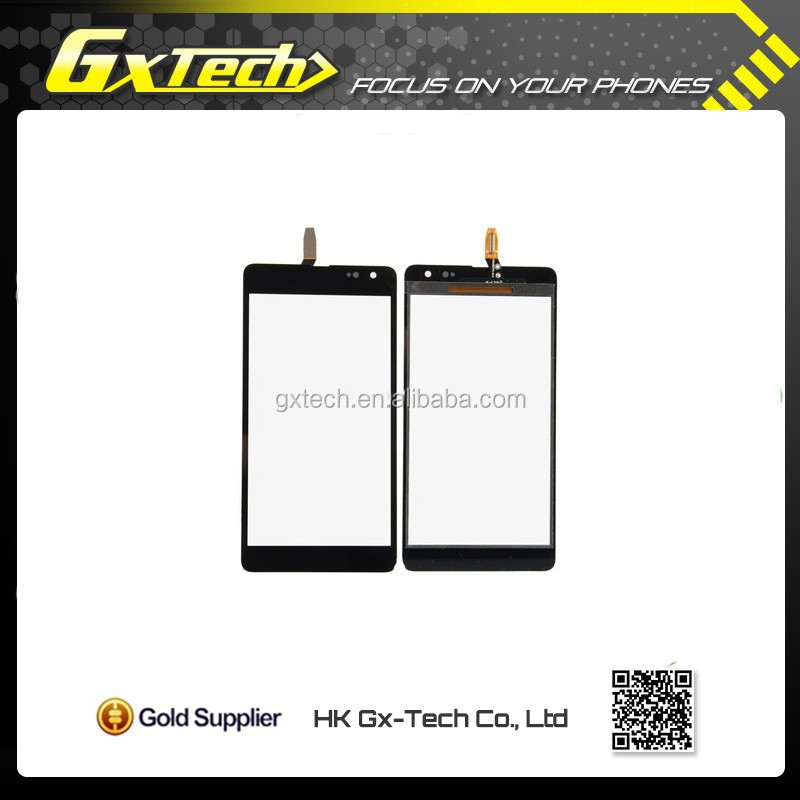 original black front touch screen digitizer glass panel for microsoft