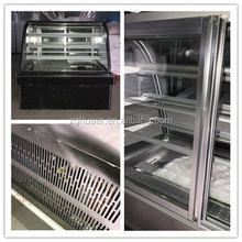 Bakery display sandwich / cake marble showcase refrigerator