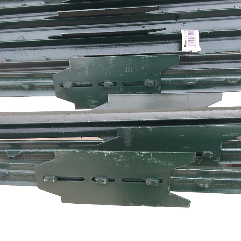 painted wholesale carbon steel fence t post