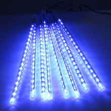 Multi-color 50CM 60CM SMD2835 Meteor Shower Rain Tubes LED Christmas Lights for Wedding Party Garden Xmas