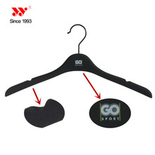 extended plastic rubber coated hangers