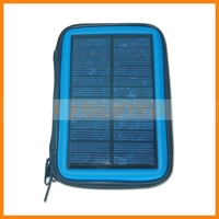 2000mah Dual-usage Camping Clip Solar External Battery for iPhone 5C