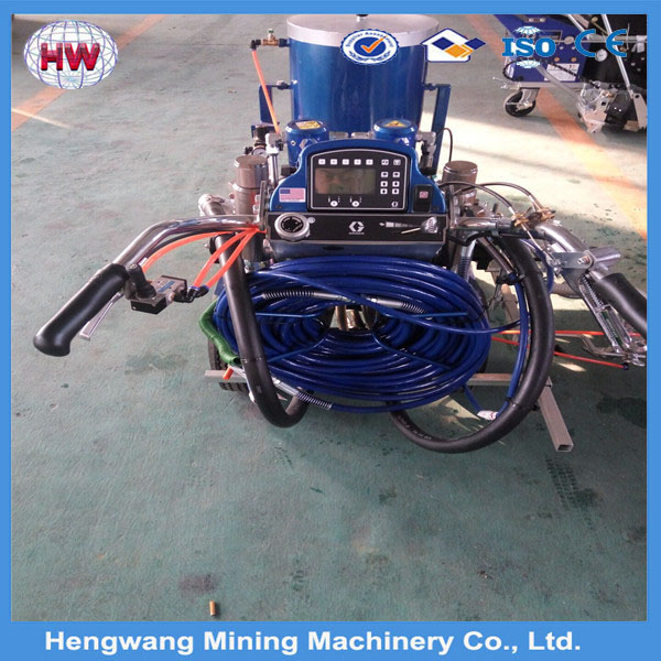 whatsapp +8613508973211 2016 Vehicle Cold Plastic Paint Truck Mounted Road Line Marking Machine for sale