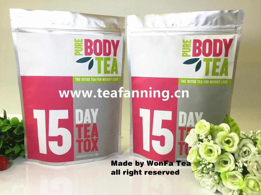 Customized 14day or 28day Detox Tea and diet for body weight loss USFDA
