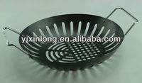 Carbon steel BBQ grill wok BBQ accessories