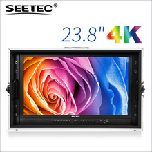 SEETEC 23 inch HDMI SDI 4K 3840x 2160 ultra HD display Broadcast Director production lcd monitor