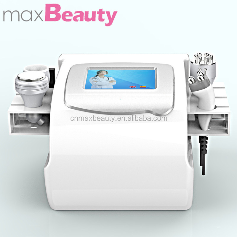 Bipolar RF vacuum cavitation slimming lipolaser ultrasonic Machine for body fitness