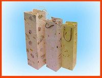 Fancy Color Paper Gift Bag Wine Bag Paper Bag For Gift