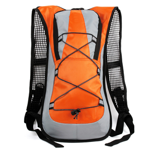 Slim outdoor sports water bag gear bag cycling backpack with reflective strip