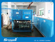 Industrial high production containerized 5tons/day block ice machine