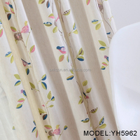 China wholesale ready made curtains and drapes window curtain