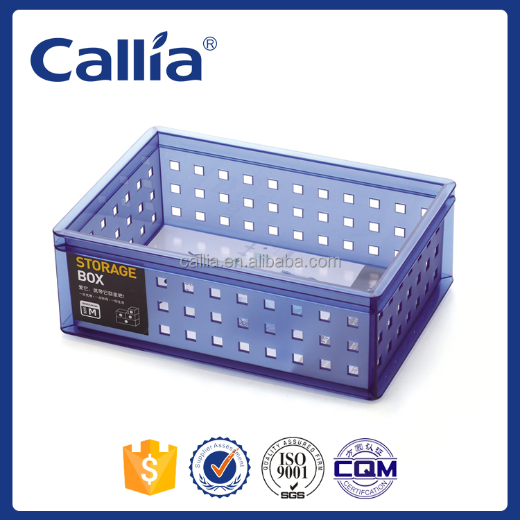 Callia Office/ Plastic Storage Boxes for Stationery