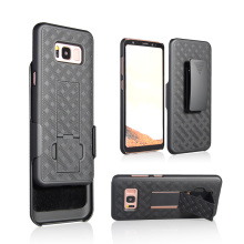Hot products tough belt clip celular case for Samsung S8 2017 combo holster