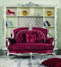 Fashion carving victorian reproduction deco furniture in living room sets