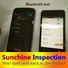 electronics product quality control inspection/ phone and tablet pc quality testing in Shenzhen