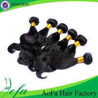 DHL / UPS / TNT, Wholesale black star hair weave