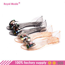 SW-0870 Factory Manufacturer Women Jelly Shoes Sandals with Diamond