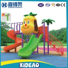 used factory price commercial plastic large park kids outdoor play structures XA-T2303