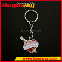 Engraving floating Italy metal keychain souvenir 2016