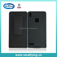 2015 new product Holster for huawei ascend p6 case ,combo case wholesale