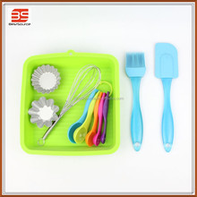 14pcs silicone baking form set with any color silicone bakeware manufacturers