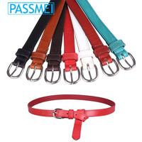 Custom fashion lady pu belt