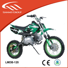 off road dirt bike 125cc with electric start or kick start