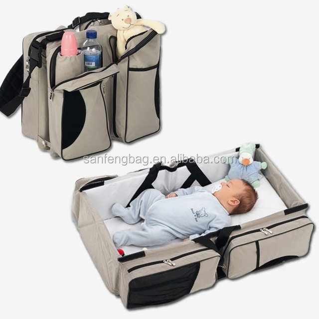 2017 Hot Products 3-in-1 Baby Portable Crib Bag ,Bassinet & Diaper Bag carry cot