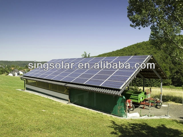 4KW Residential Stand Alone off-grid Solar Power/Energy Home System for home use/solar panel kits complete