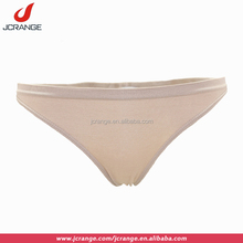 Nude low rise comfortable crotchless young girls micro women thong pantes underwear