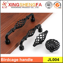 European style birdcage handle antique cabinet wooden handle