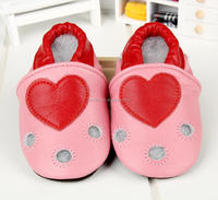 2017Spring and Summer hot sell styles Guaranteed 100% soft soled Genuine Leather baby shoes / baby shoes