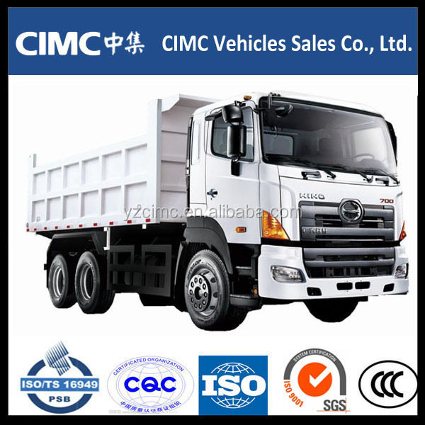 HINO CIMC C&C hydraulic pump for mini dump truck sale in Dubai