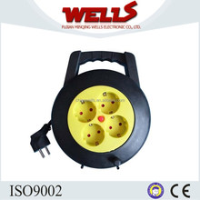 Small cable reel,plastic cable reel retractable, extension cable reel