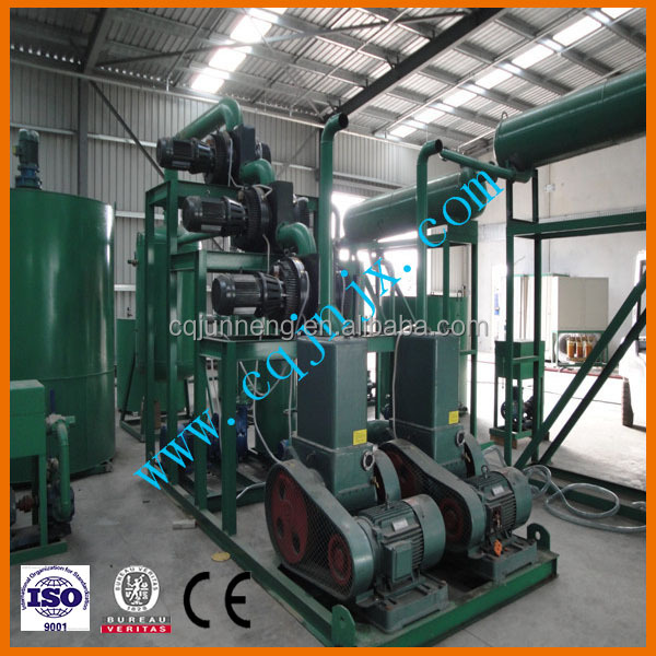 ZSA Black Oil Distillation/Waste Engine Oil Recycle Plant For Sale