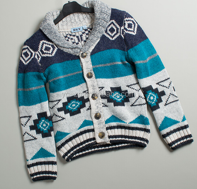 European cashmere sweater handmade knit wool sweater designs for boys