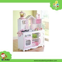 Happy family doll house wooden barbie doll house children toy house