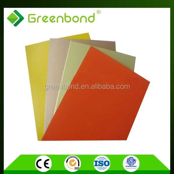 Greenbond aluminum composite panel perforated kaca dan sheet with cheap price
