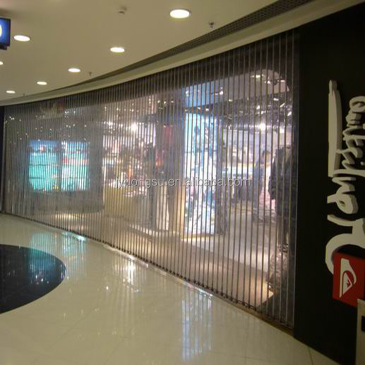 high speed modern finished commercial plastic interior roller shutter door