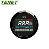 Internal GPS speedometer 52mm for Motorcycle