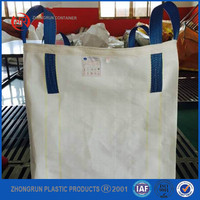Recycling 1 ton big bag / 1.5 ton cement jumbo bag / bulk bag / super sack / fibc for lime,cement,sand Hebei supplier