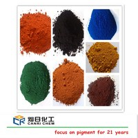difference colors pigments 95% pigments for concrete iron oxide