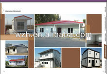 Different design case Prefabricated Living House