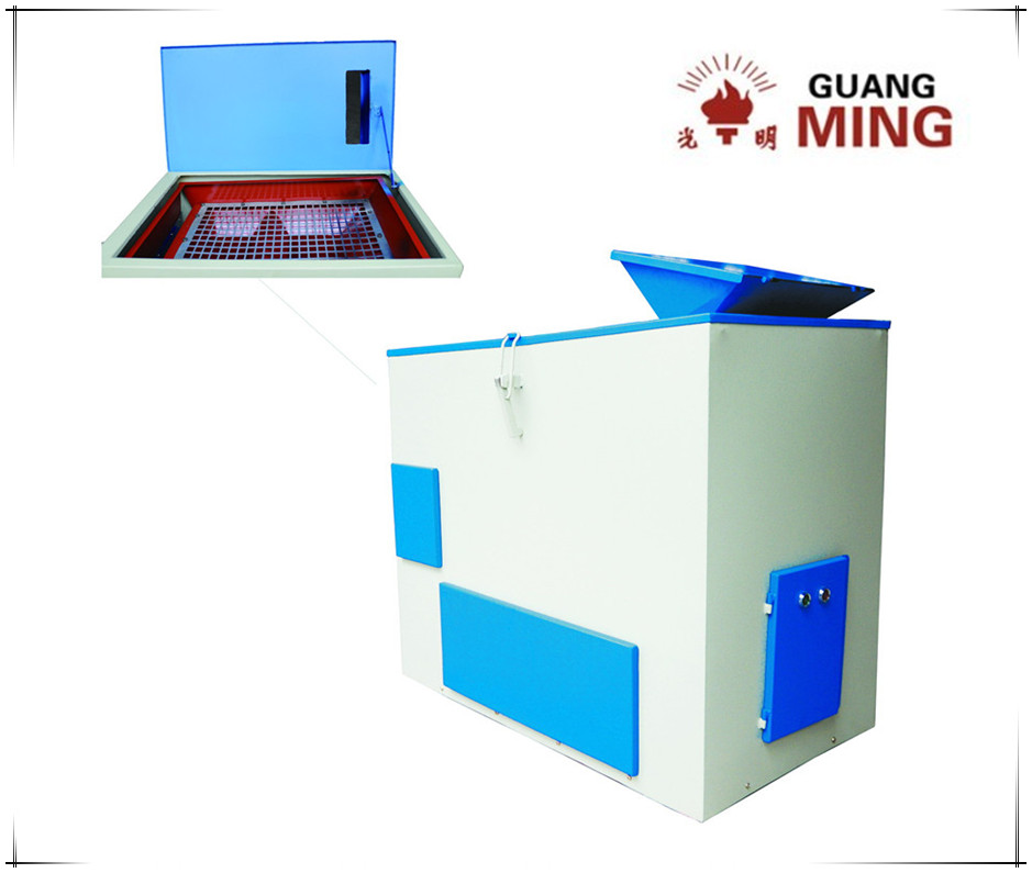 Single deck horizontal linear shaker, high efficiency sealed design mechanical sieve shaker for sieving ore, rock, coal