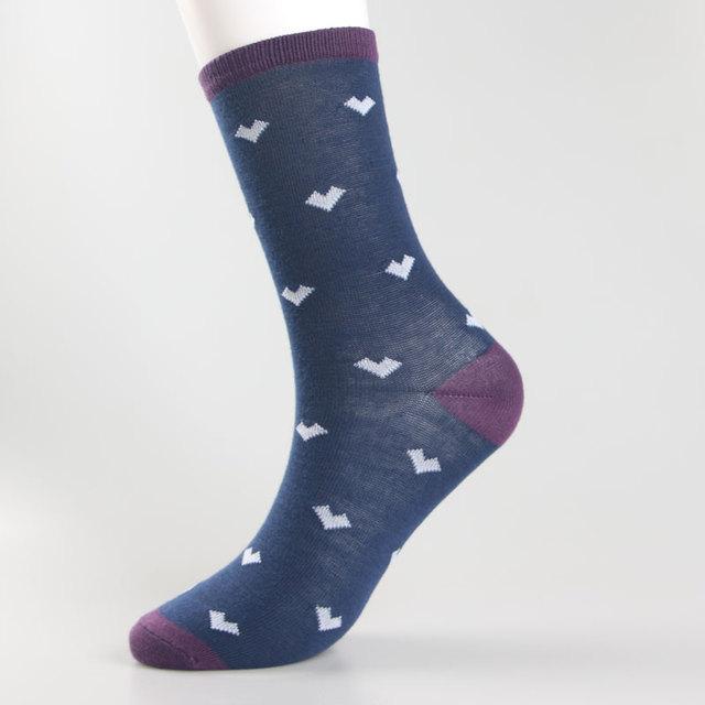 2017 Fashion hot sale ankle dot men socks