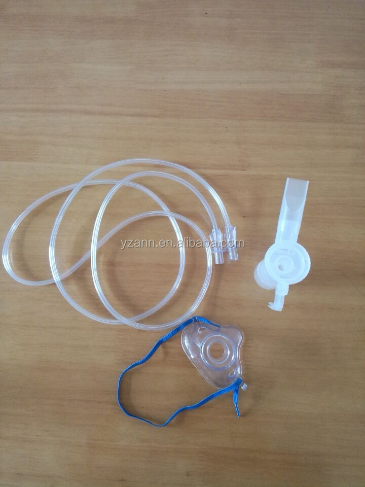 medical disposable pediatric nebulizer mask set with cup and tube